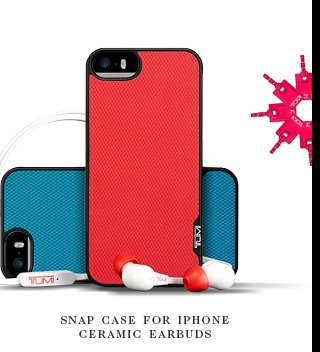 Snap Case for iPhone and Ceramic earbuds - Shop Now