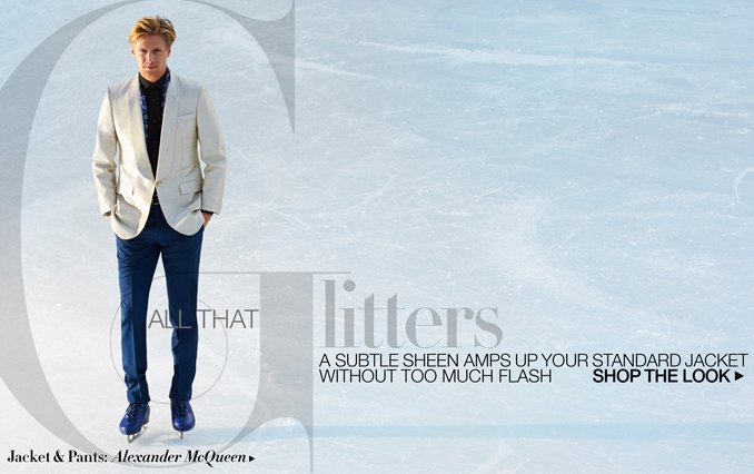 Shop The Look: All That Glitters For Men