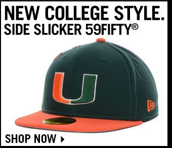 Shop College Side Slicker 59FIFTY Collection