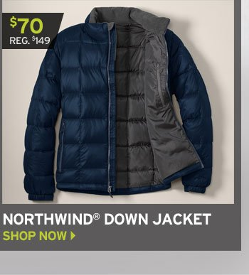 Shop Northwind Down Jacket