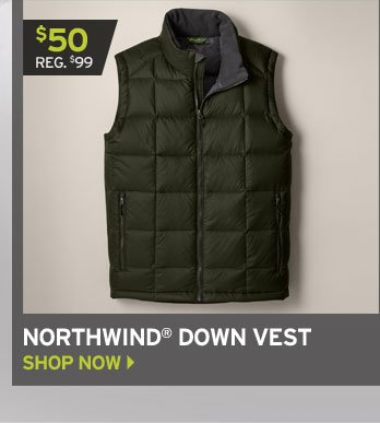 Shop Northwind Down Vest