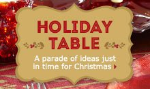 A parade of ideas just in time for Christmas