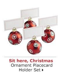 Ornament Placecard Holder Set