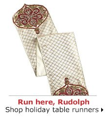 Shop holiday table runners
