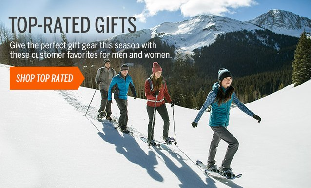 TOP-RATED GIFTS FOR MEN & WOMEN