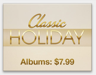 Classic Holiday Albums: $7.99