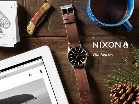 Nixon | The Sentry Leather
