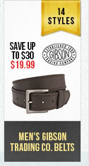 Mens Gibson Belts
