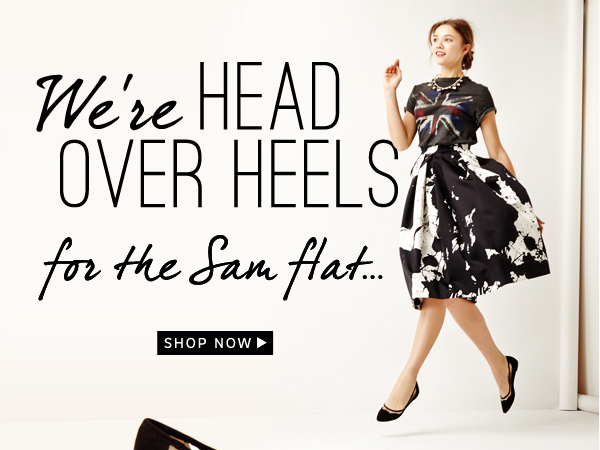 Head Over Heals for the Sam Flat: Shop Now