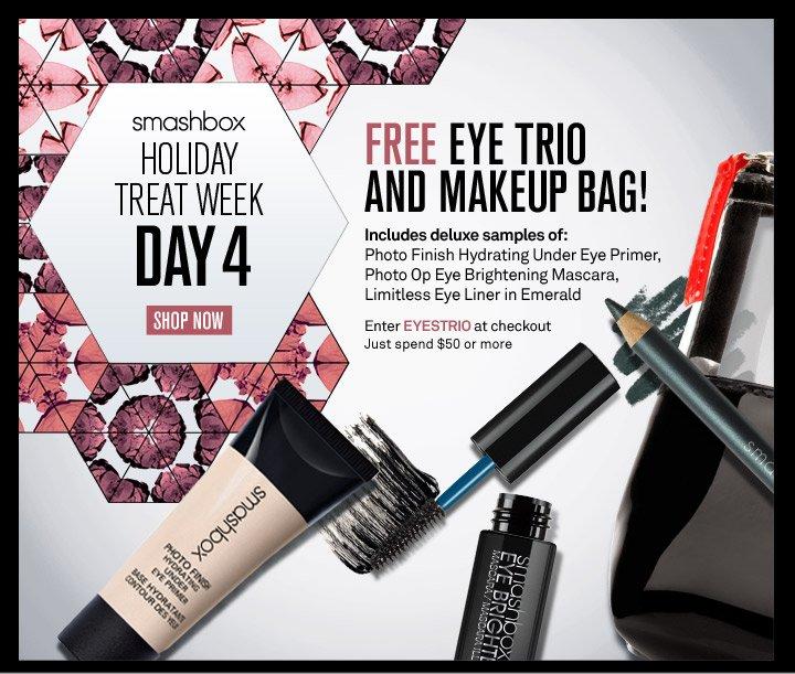 Smashbox Holiday Treat Week - Day 4
