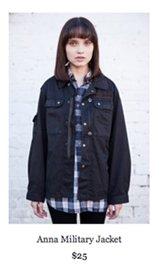 Anna Military Jacket