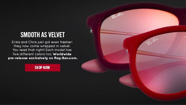 New & Exclusive Velvet Sunglasses.
