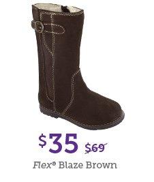 Flex Blaze Brown $35 (Was $69)