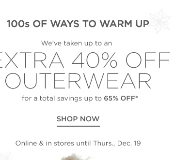 Up to 65% off Women's Outerwear