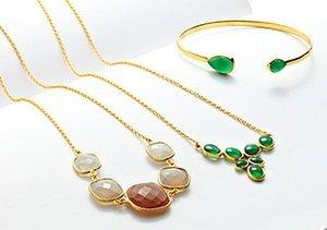 Argento Vivo Hammered & Gem Jewelry
