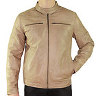 Xelement Mens Moto Racer Saddle Casual Leather Jacket