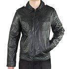 Xelement Mens Urbanite Black Casual Leather Jacket