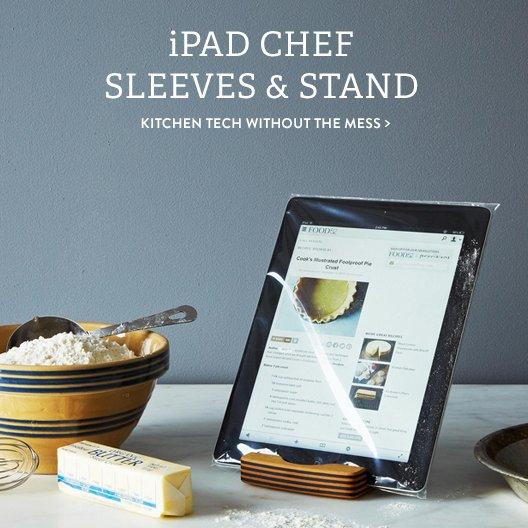 iPad Sleeves + Stand