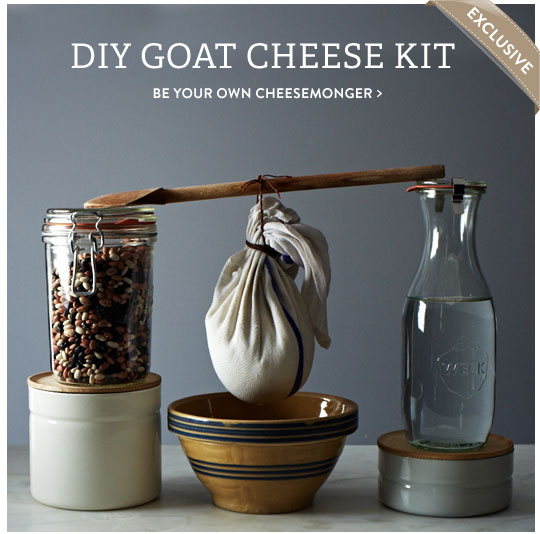 DIY Goat Cheese