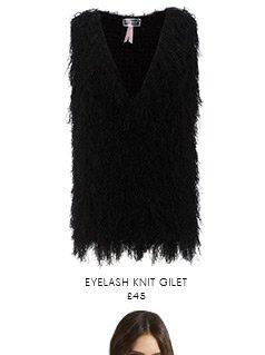 Eyelash Knit Gilet
