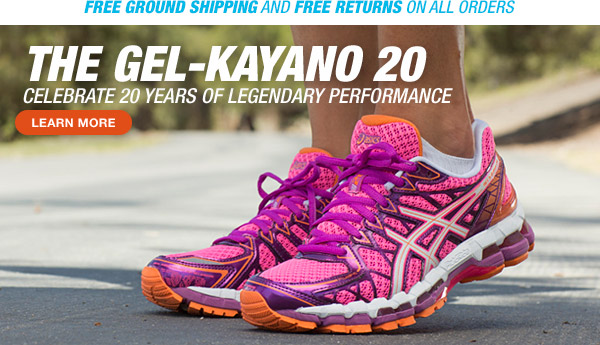 Shop the GEL-Kayano 20 - Hero