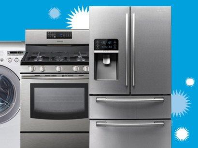 Refrigerator, Washer, Range