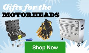 Gifts for the Motorheads. Shop Now.