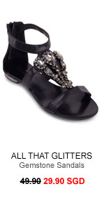 ALL THAT GLITTERS Gemstone Sandals