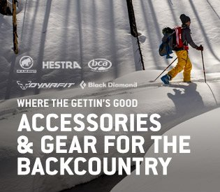 Accessories & Gear for the Backcountry