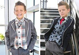 Boys' Dress Up: Three-Piece Suits