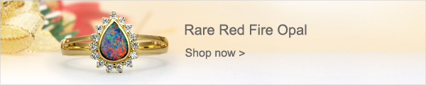 Rare Red Fire Opal
