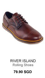 River Island Brown and Yellow Rolling Shoes!