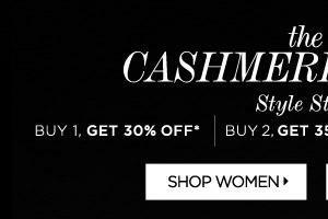 Shop Women's Cashmere
