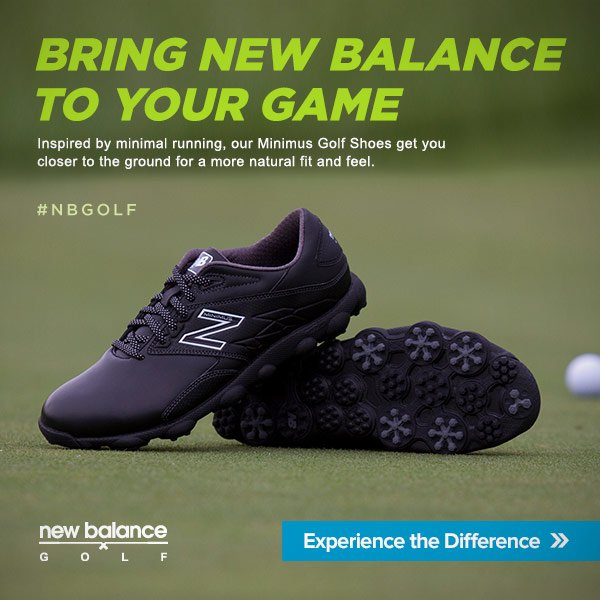 Bring New Balance to Your Game #NBGolf