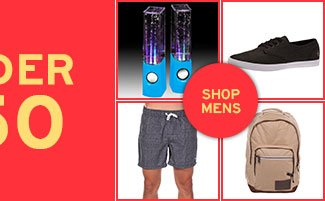 Mens Gifts Under 50