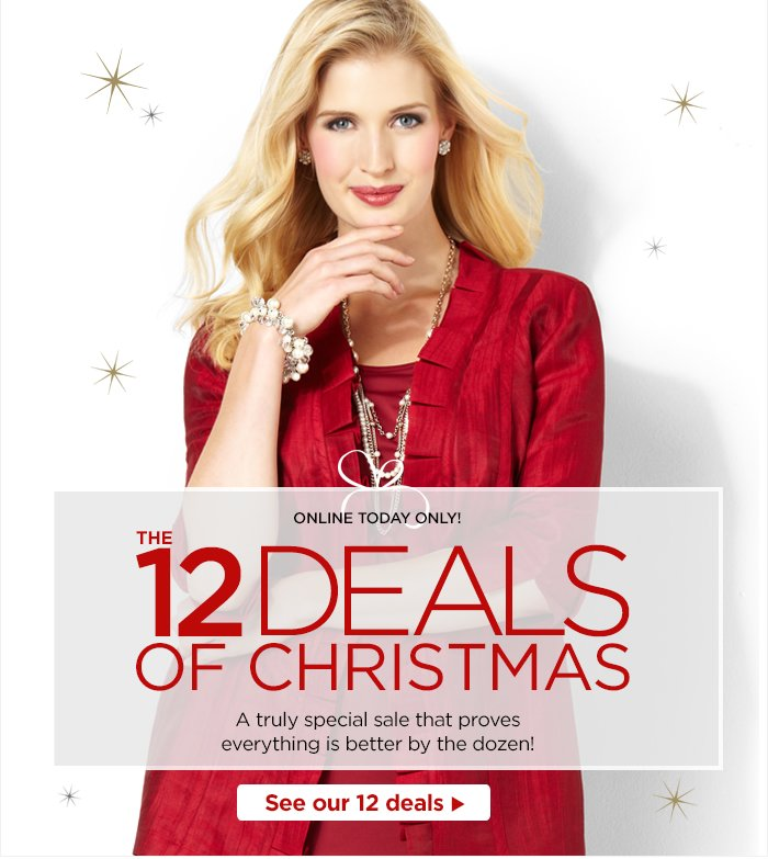 Shop The 12 Deals of Christmas!
