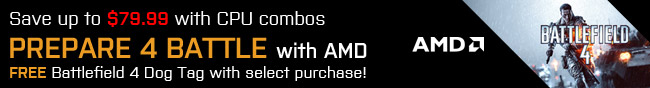Prepare 4 Battle With AMD. Battlefield 4 Dog Tag With Select Purchase!