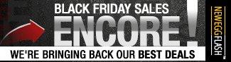Newegg Flash - Black Friday Sales Encore!