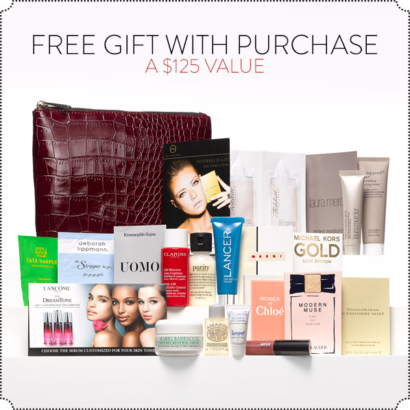 FREE GIFT WITH PURCHASE - A $125 VALUE