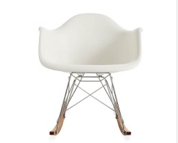 EAMES MOLDED PLASTIC ROCKER IN STOCK
