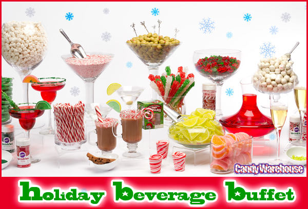 holiday beverage buffet