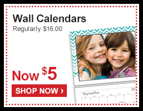 Wall Calendars Regularly $16.00 Now $5 - Shop Now ›