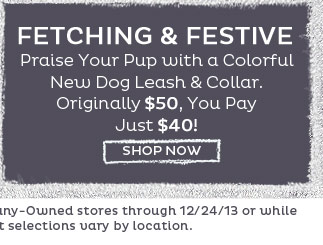 Fetching & Festive