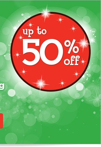 Save up to 50% off with our best deals