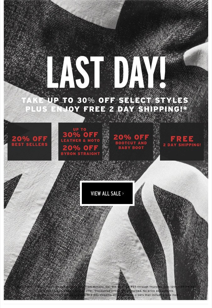 Last Day! - View All Sale