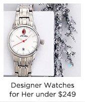 Designer Watches for Her Under $249