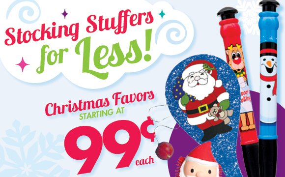 Stocking Stuffers for LESS!