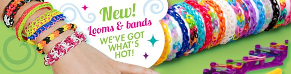 New! Looms & Bands