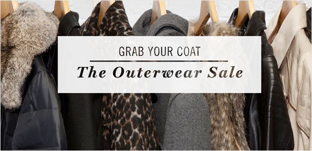 Grab Your Coat: The Outerwear Sale