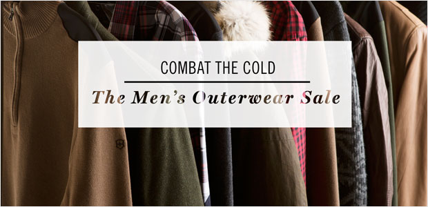 Combat the Cold: The Men's Outerwear Sale
